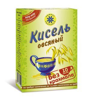 Кисель овсяный на фруктозе, Компас Здоровья, 150 г
