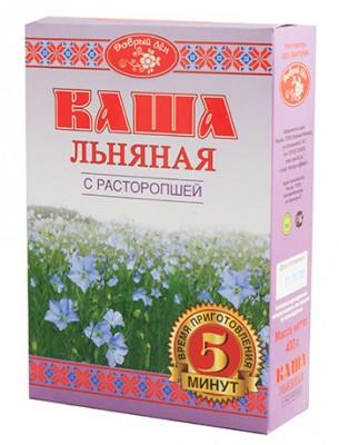 """Каша льняная с расторопшей """"Добрый лен"""", 400 г"""