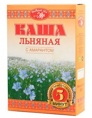 """Каша льняная с амарантом """"Добрый лен"""", 400 г от Свой Путь"""
