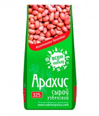 """Арахис сырой узбекский для проращивания, """"Всем на пользу"""", 325 г от Свой Путь"""
