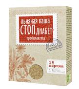 """Каша льняная """"Стоп диабет"""" профилактика, 400 г от Свой Путь"""