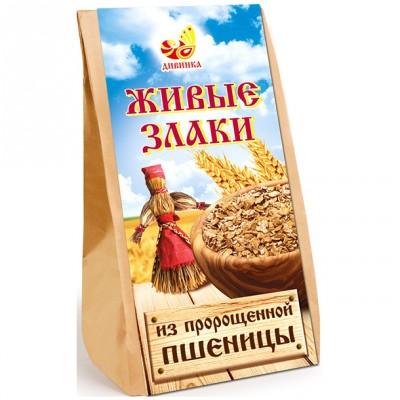 """Живые злаки из пророщенной пшеницы """"Дивинка"""", 300 г от Свой Путь"""