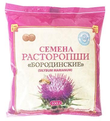 Семена расторопши Бородинские, 100 г