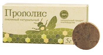 """Прополис пчелиный натуральный, """"Алтайский букет"""", 5 г от Свой Путь"""