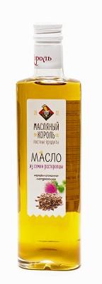 Масло из семян расторопши «Масляный король», 0.35 л,