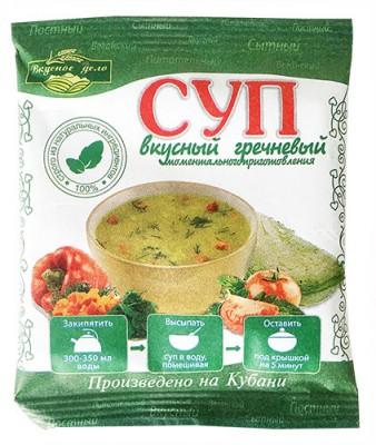 Суп гречневый,