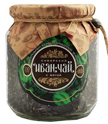Сибирский иван-чай ферментированный с мятой, 100 г