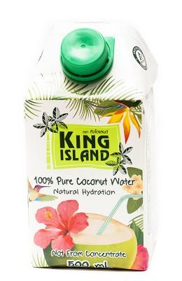 Кокосовая вода без сахара KING ISLAND, 500 мл от Свой Путь