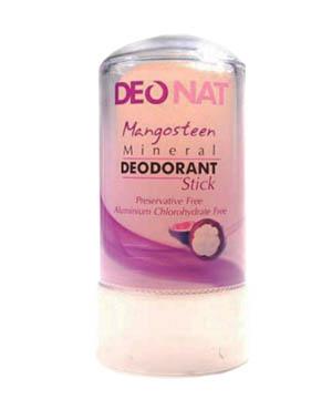 Дезодорант кристалл, Деонат с кожурой мангостина, стик, 60 г