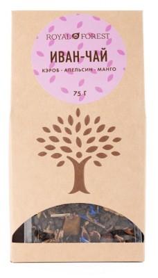 """Иван-чай с кэробом, апельсином и манго,""""Royal Forest"""", 75 г от Свой Путь"""
