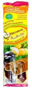 Пастила сливово-яблочная Фруктовый лаваш, 70 г