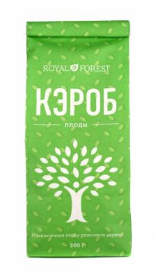 Плоды рожкового дерева, Royal Forest, 200 г
