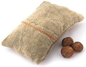 Мочалка с мыльными орехами, 1 шт от Свой Путь