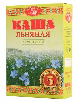 "Каша льняная с кунжутом ""Добрый лен"", 400 г от Свой Путь"