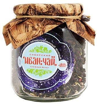 """Сибирский иван-чай ферментированный """"Снежный вечер"""", 85 г от Свой Путь"""