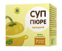 """Суп пюре """"Овощной"""", 7 пакетов по 30 г от Свой Путь"""