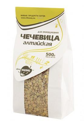 Чечевица алтайская для проращивания, Образ Жизни, 500 г