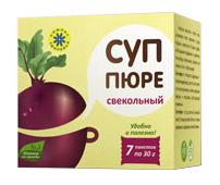 """Суп пюре """"Свекольный"""", 7 пакетов по 30 г от Свой Путь"""