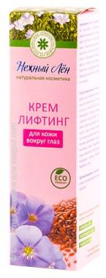 Крем лифтинг для кожи вокруг глаз, Нежный лён, 15 млКрема, бальзамы, массажные плитки<br>Крем лифтинг для кожи вокруг глаз нормализует гидро-липидный баланс кожи, насыщает кожу всеми необходимыми питательными веществами, улучшает качество и структуру кожи, а растительный биополимер надёжно защищает кожу от сухости. Уменьшаются тёмные круги...<br>