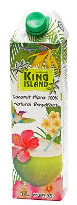 Кокосовая вода без сахара (Amarica) KING ISLAND, 1000 мл от Свой Путь