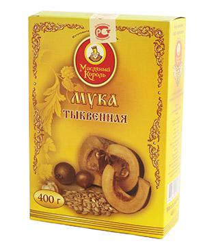 """Мука тыквенная """"Масляный король"""", 400 г от Свой Путь"""