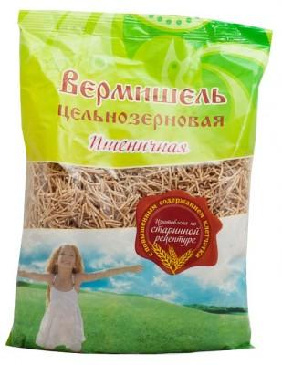 """Вермишель цельнозерновая пшеничная, """"Дивинка"""", 350 г от Свой Путь"""