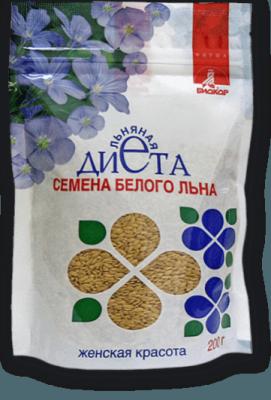 Семена белого льна, Биокор