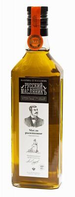 Сыродавленное рыжиковое масло «Русский МасляникЪ», 0,5 л