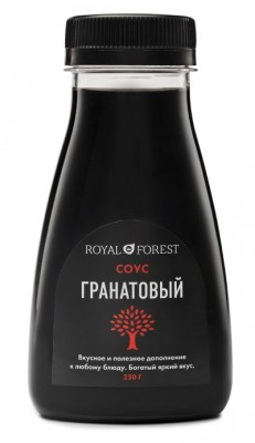 Гранатовый соус, Royal Forest, 250 г