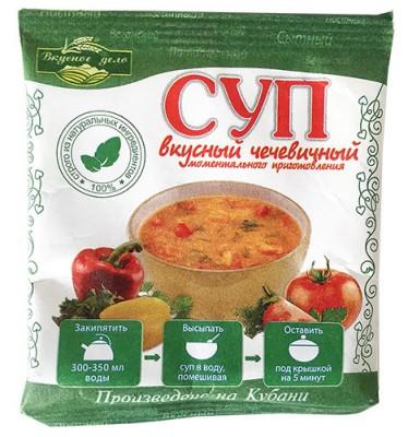 """Суп чечевичный, """"Вкусное дело"""", 28 г от Свой Путь"""
