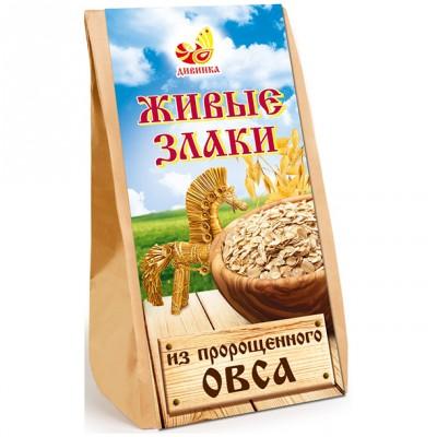 Живые злаки из пророщенного овса Дивинка, 300 г