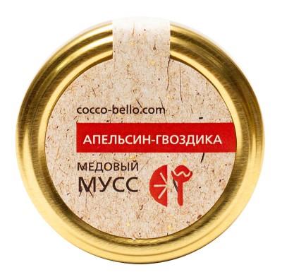 """Медовый Мусс Cocco Bello """"Апельсин - Гвоздика"""", 250 мл от Свой Путь"""