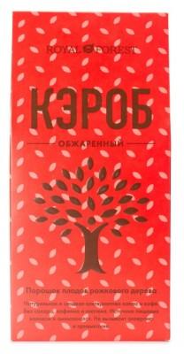 Кэроб обжаренный, порошок, Royal Forest, 100 гКэроб, шоколад, какао продукты<br>Кэроб обжаренный от Royal Forest сладкий и полезный. Получают из плодов рожкового дерева с помощью специальной технологии обжаривания, которая придает ему ярко-выраженный шоколадный вкус.<br><br><br> Состав: натуральный порошок плодов рожкового дерева- Кэр...<br>