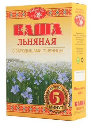"""Каша льняная с зародышами пшеницы """"Добрый лен"""", 400 г от Свой Путь"""