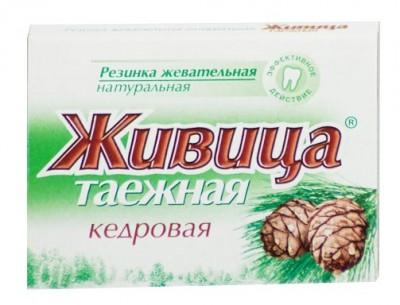 """Натуральная жевательная резинка """"Живица таежная кедровая"""", 5 шт по 0,8 г от Свой Путь"""