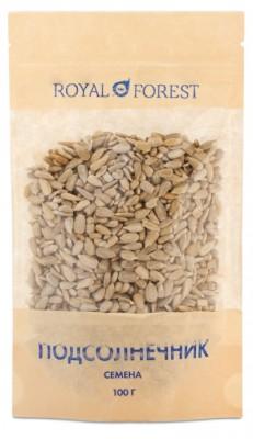 Семена подсолнечника, Royal Forest, 100 г