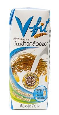 Молоко из коричневого риса без сахара V-FIT, 250 мл от Свой Путь