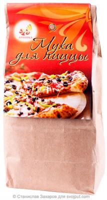 Мука для пиццы пшеничная цельнозерновая, Дивинка, 700 г