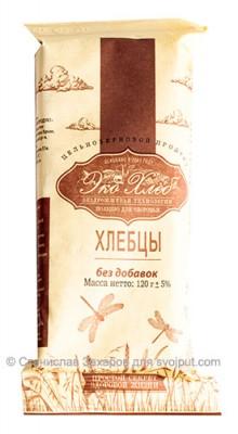 Хлебцы без добавок цельнозерновые, «ЭкоХлеб», 120 гЖивые полезные хлебцы<br>100% натуральные цельнозерновые хлебцы марки «Эко-Хлеб» из проращенной пшеницы с добавлением лука, чеснока и других специй  - это вкусный хрустящий продукт для здорового питания. Живая еда!<br><br><br> Состав: цельное пророщенное зерно пшеницы<br>