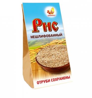 Нешлифованный рис, Дивинка, 500 г