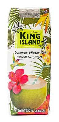 Кокосовая вода без сахара KING ISLAND, 250 мл от Свой Путь