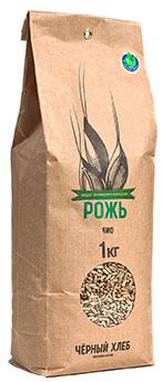 """Рожь БИО для проращивания, """"Чёрный хлеб"""", 1 кг от Свой Путь"""