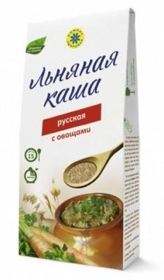 """Каша льняная """"Русская"""" с овощами, 400 г от Свой Путь"""