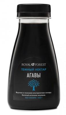 Нектар агавы темный, Royal Forest, 250 г