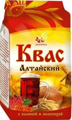 Квас Алтайский с калиной и облепихой, Дивинка, 700 г