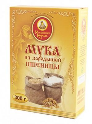 """Мука из зародышей пшеницы """"Масляный король"""", 300 г"""