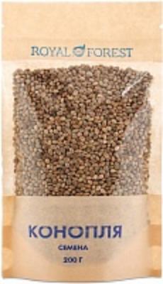 Семена конопли, Royal Forest, 200 г