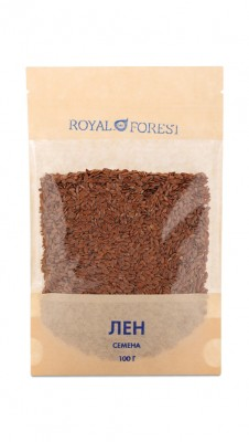Лен (семена), Royal Forest, 100 г