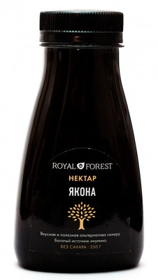 "Нектар якона, ""Royal Forest"", 250 г"